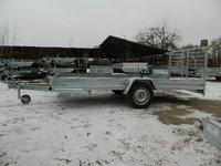 Remorca Transport Snowmobile Boro 750Kg cu dimensiune utila de 3400 x 1500 x 200  mm,