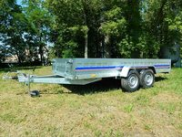 Remorca utilitara Niewiadow 1400 kg dimensiune 402x150x35 cm