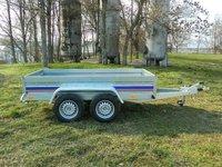 Remorca utilitara Niewiadow 1400 kg dimensiune 260x130x35 cm