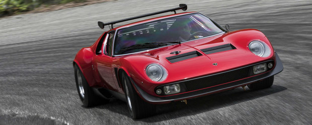 Renasterea unei legende. Lamborghini a restaurat complet singurul Miura SVR construit vreodata
