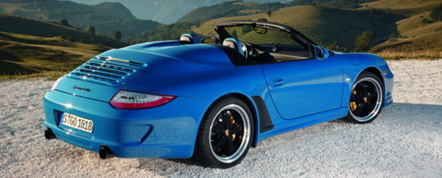 Renasterea unei legende : Porsche prezinta noul 911 Speedster