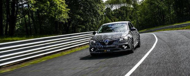 Renault a confirmat zvonurile. Ce sistem va oferi in premiera noul Megane RS