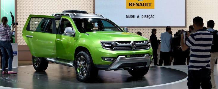Renault a lansat la Sao Paolo un concept bazat pe Dacia Duster