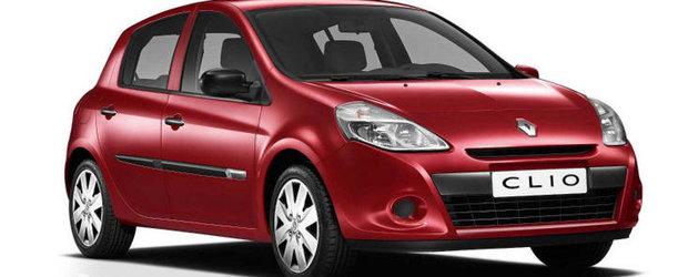 Renault a lansat o versiune mai eco a modelului Clio