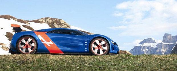 Renault Alpine A110-50, noul coupe sport de 50.000 euro soseste in 2015