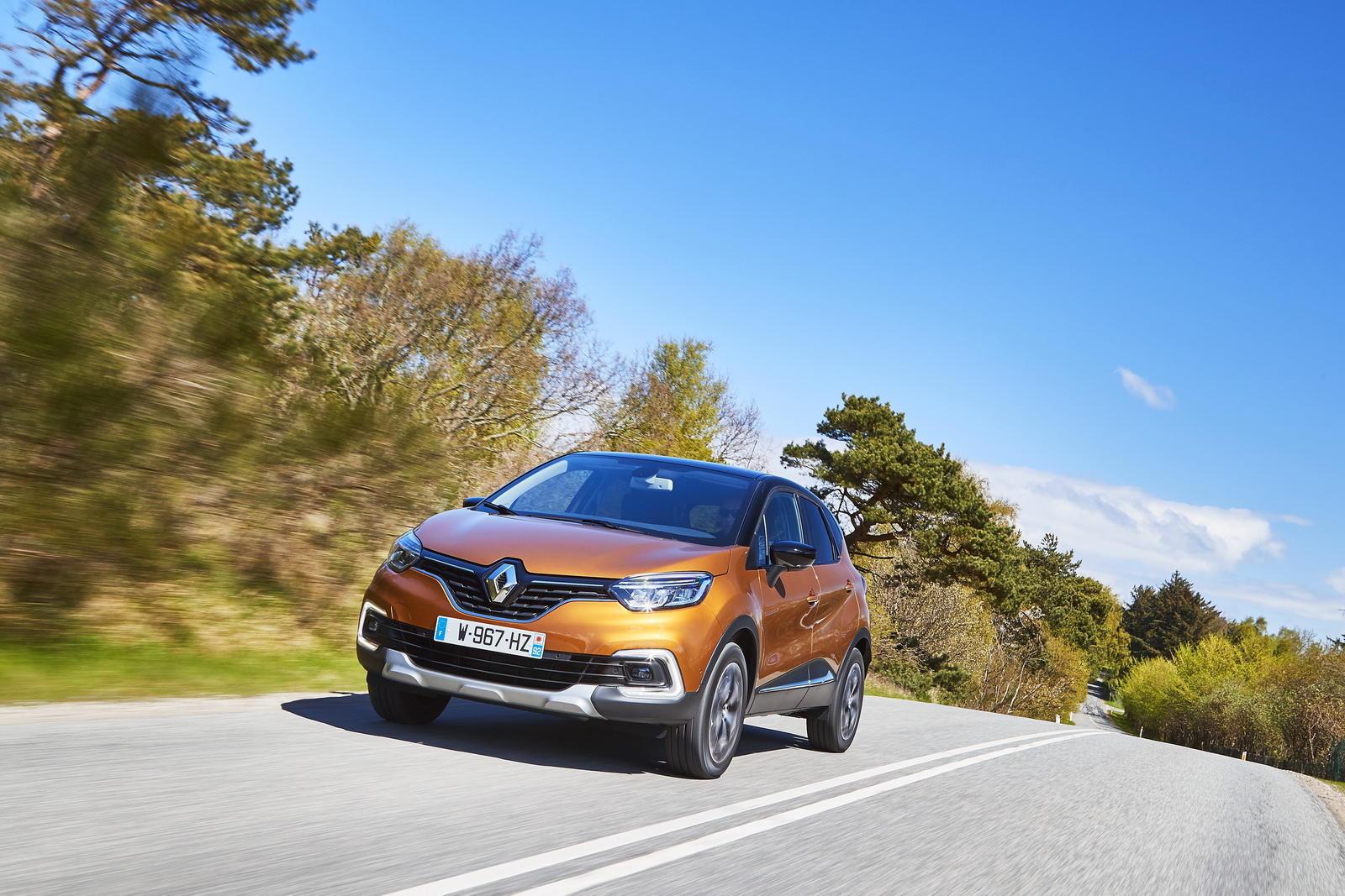 Renault Captur facelift - Renault Captur facelift