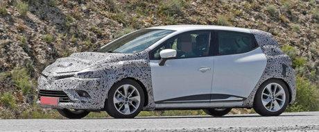 Renault Clio facelift va imprumuta unele detalii de la noul Megane