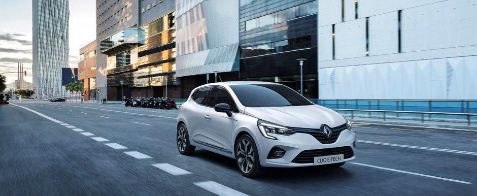 Renault Clio HIBRID este aici: motor de 1.6 litri, doua unitati electrice si consum cu 40% mai mic