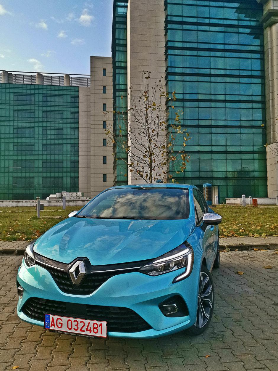 Renault Clio Intense Blue dCi 115
