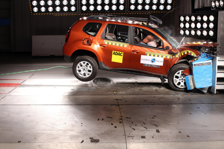 Renault Duster la Global NCAP