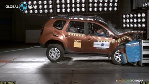 Renault Duster testat de Global NCAP 2
