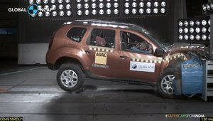 Renault Duster testat de Global NCAP