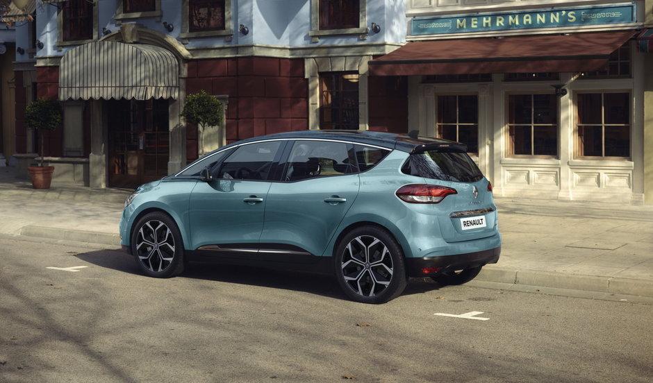 Renault Espace si Scenic