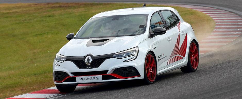 Renault face ravagii pe teritoriul Honda. Megane RS Trophy-R este cea mai rapida masina FWD de pe Suzuka