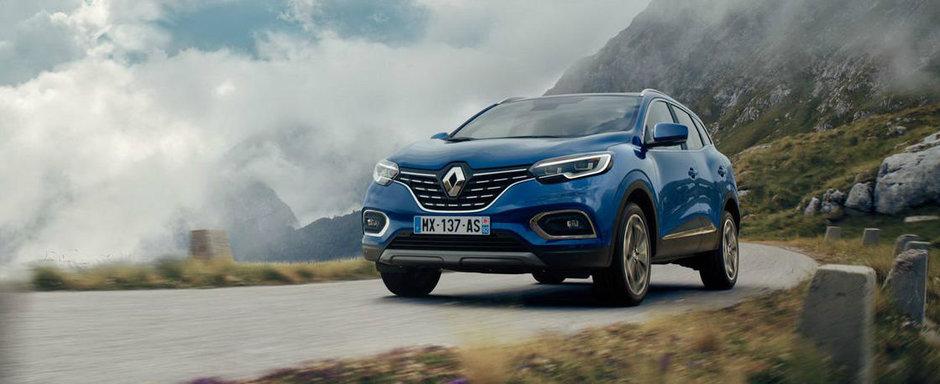Renault Kadjar facelift: imbunatatiri pe toate planurile si o noua motorizare turbo pe benzina