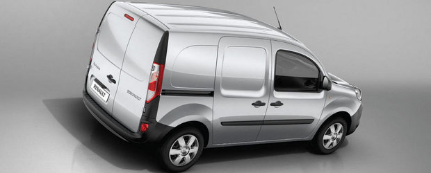 Renault Kangoo facelift - primele fotografii oficiale