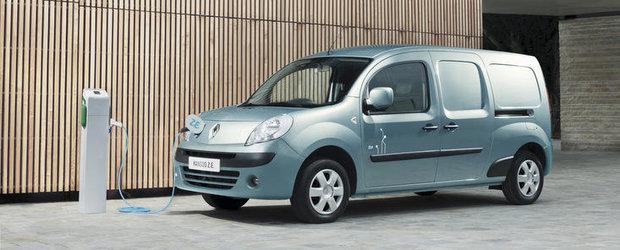 Renault Kangoo Z.E. ar putea fi disponibil in Romania la sfarsitul acestui an
