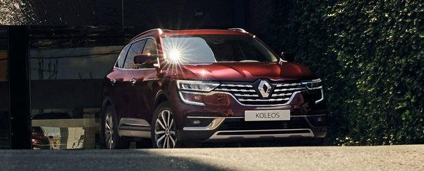 Renault Koleos, de-acum si mai atractiv. Imbunatatirile primite de SUV-ul francez