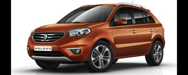 Renault Koleos Facelift: SUV-ul francez primeste o noua infatisare