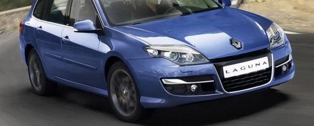 Renault Laguna primeste un facelift pentru 2011