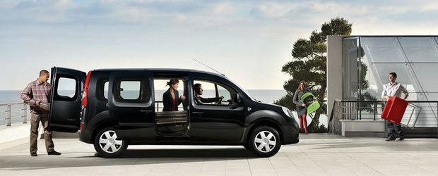Renault lanseaza in aprilie o noua versiune Kangoo