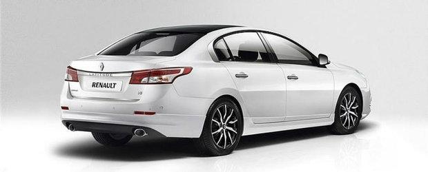 Renault Latitude Facelift - Primele imagini oficiale