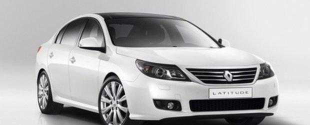 Renault Latitude - Primele fotografii oficiale