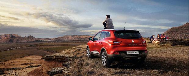 Renault le ia fata celor de la Ford. SUV-urile ii propulseaza pe francezi pe locul 2 in Europa