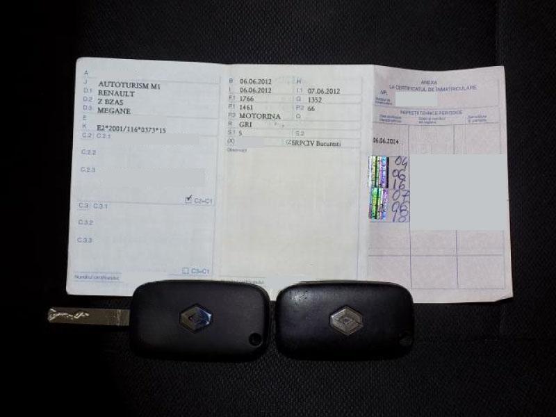 Renault Megane 1.5 dCi Expression 90 CP 2012