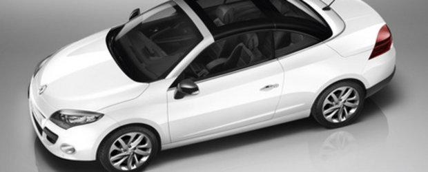 Renault Megane CC: Close-up look