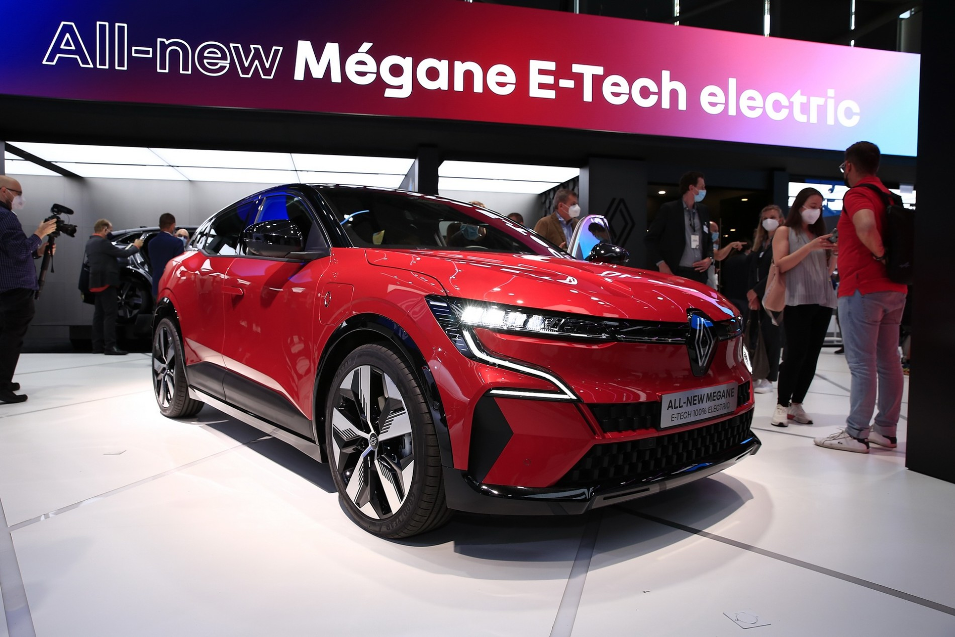 Renault Megane E-Tech - Poze reale - Renault Megane E-Tech - Poze reale