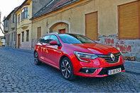 Renault Megane Estate Blue dCi 150