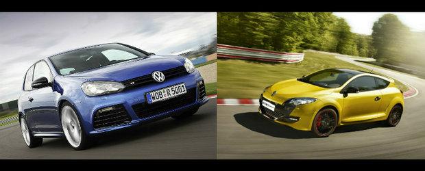 Renault Megane RS Trophy versus Volkswagen Golf R