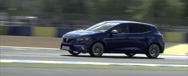 Renault ne arata in actiune noul sau Megane GT