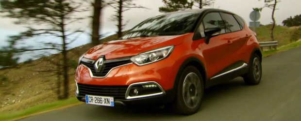 Renault ne prezinta noul Captur in cadrul unui test-drive