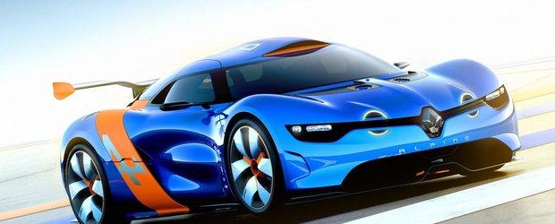 Renault poate cumpara marca Alpine si inca o marca de lux