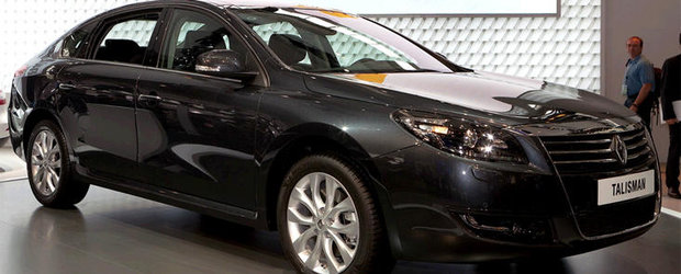 Renault prezinta la Beijing limuzina Talisman