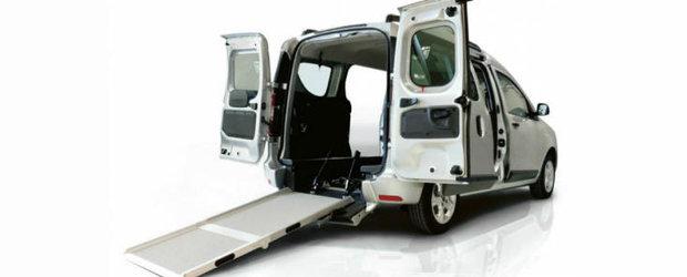 Renault prezinta o Dacia Dokker adaptata pentru persoanele cu dizabilitati