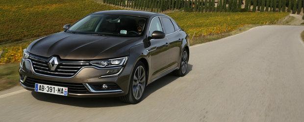 Renault publica 145 de fotografii proaspete ale noului Talisman