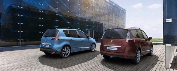 Renault Scenic si Grand Scenic facelift, disponibile in Europa