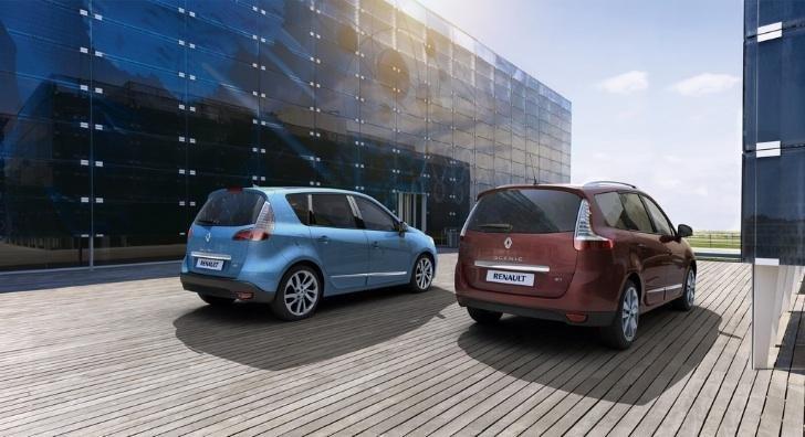 Renault Scenic si Grand Scenic facelift, disponibile in Europa