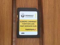 Renault SD CARD Harta navigatie CARMINAT TOMTOM TOM TOM LIVE 2016