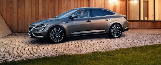 Renault Talisman: Cum arata concurentul noilor Ford Mondeo si VW Passat