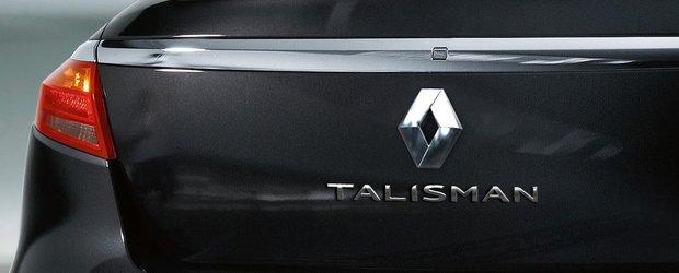 Renault Talisman - Primul teaser oficial