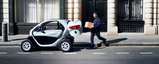 Renault Twizy Cargo, cea mai mica utilitara electrica de pe piata
