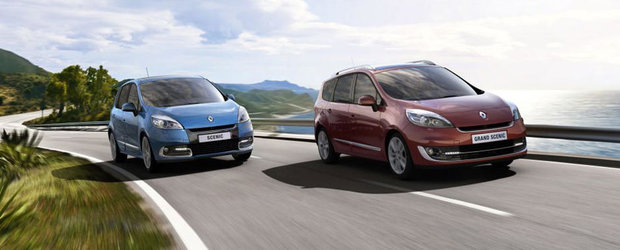 Renault va expune la Geneva facelifturile modelelor Scenic si Grand Scenic