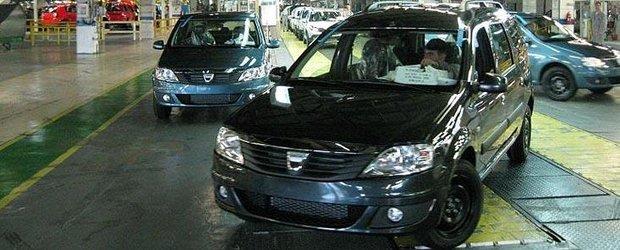 Renault va investi 250 de milioane de euro in uzina Dacia de la Mioveni