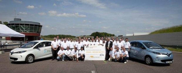 Renault Zoe a depasit recordul de distanta stabilit de Citroen AX CEA