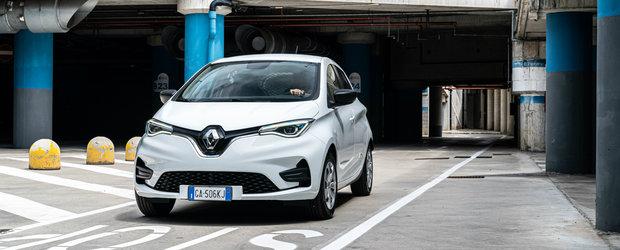 Renault Zoe bate tot. Modelul francez este cea mai vanduta electrica din Europa