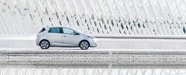 Renault ZOE lansat in Romania: 20.900 Euro plus chirie 79 E/luna la baterie